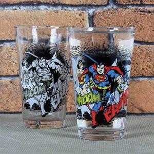 DC Comics Colour Change Glass