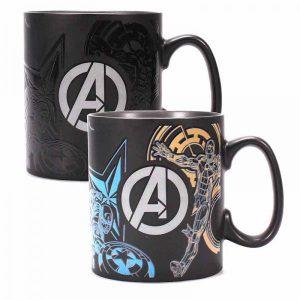Marvel Avengers Heat Changing Mug