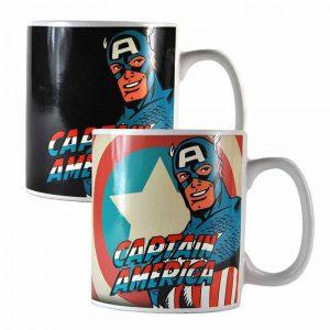 Marvel Captain America Heat Changing Mug