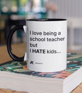 Teacher Hates Kids Coffee Mug