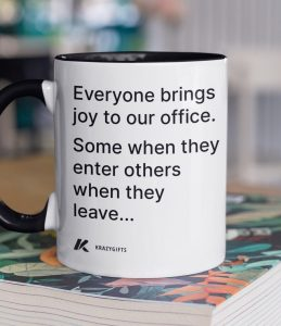 Office Joy Coffee Mug