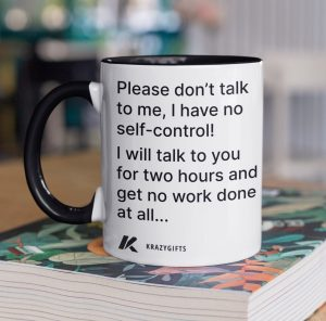 Chatty Coffee Mug