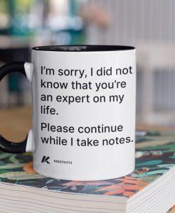 Life Expert Coffee Mug