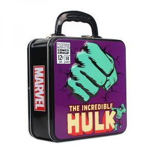 Marvel Embossed Tin Tote- Hulk