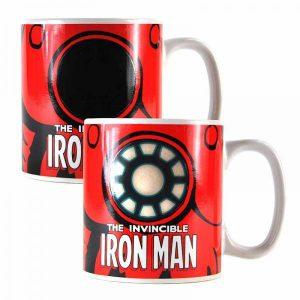 Marvel Iron Man Heat Changing Mug