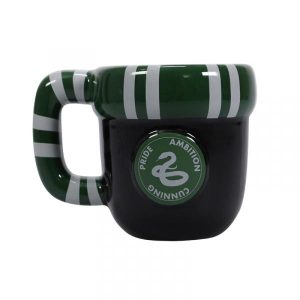 Harry Potter Shaped Mug -House Pride Slytherin