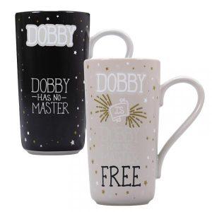Harry Potter Heat Changing Latte Mug-Dobby (Dobby is Free)