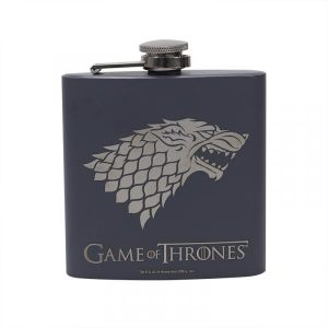 Game of Thrones Hip Flask -Stark (Winter is Coming)