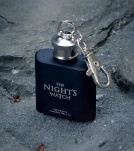 Game of Thrones Mini Hip Flask- Night's Watch