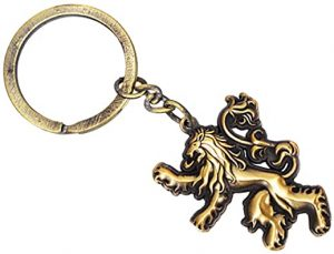 Game of Thrones Sculpted Keyring-Lannister
