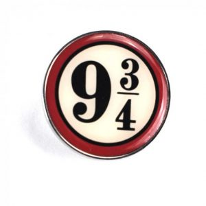 Platform 9 3/4  Enamel Pin Badge