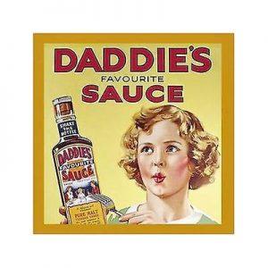 Daddies Favourite Sauce- Coaster