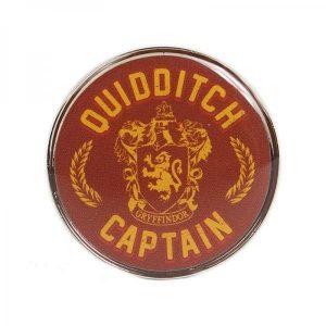 Harry Potter Enamel Badge-Quidditch Captain