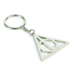 Harry Potter Keyring -Deathly Hallows