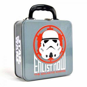 Star Wars Embossed Tin Tote-Stormtrooper Badge