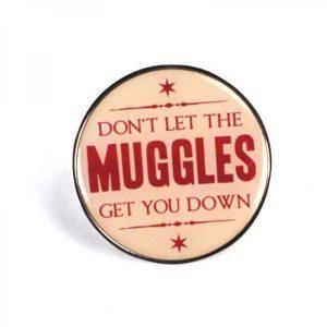 Harry Potter Enamel Badge -Muggles