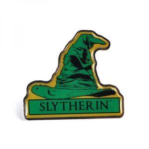 Harry Potter Enamel Badge-Slytherin Sorting Hat