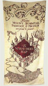 Marauders Map Towel
