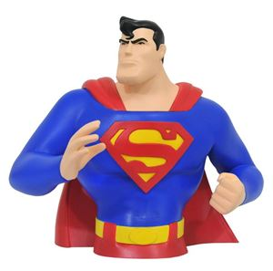 Superman The Animated Series Bust Bank Superman – DC Comics