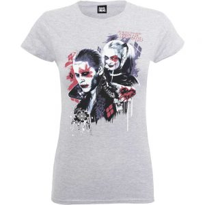 Ladies Suicide Squad – White T-Shirt
