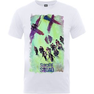 Suicide Squad Movie Poster – White T-Shirt