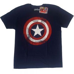 Captain America Shield – Navy T-Shirt