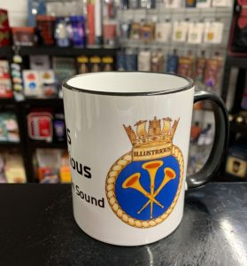 HMS Illustrious Coffee-Travel Mugs