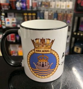 HMS Ark Royal Coffee-Travel Mugs