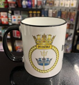 HMS Invincible Coffee Mug-Travel Mugs