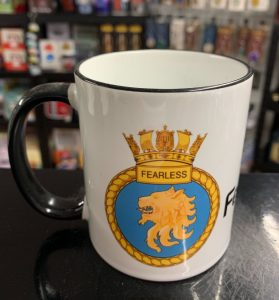 HMS Fearless Coffee-Travel Mugs