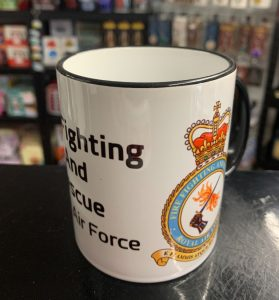 RAF Fire and Rescue Coffee-Travel Mugs