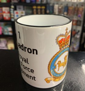 1 Squadron RAF REG Coffee-Travel Mugs