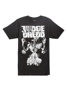 2000 AD Judge Dredd Death Vs Anderson T-Shirt