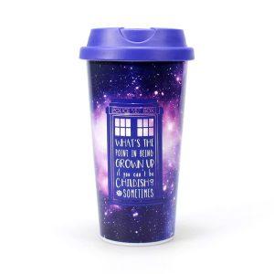Doctor who Travel Mug – Galaxy