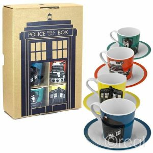 Doctor Who Espresso Set
