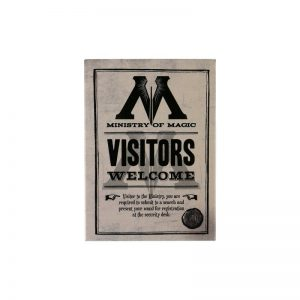 Harry Potter Metal Magnet Ministry of Magic