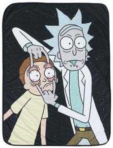 Rick & Morty Fleece Blanket