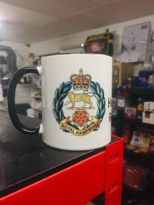 Royal Hampshire Regiment Coffee-Travel Mugs