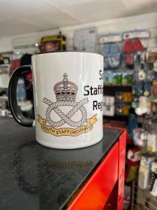 South Staffordshire Regiment Coffee-Travel Mug