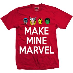 Marvel Comic Make Mine Tee Shirt