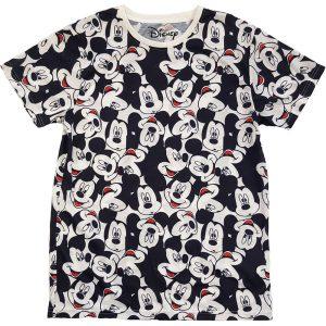 Disney's Mickey Mouse AOP Heads Tee Shirt