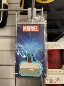 Thor's Hammer Rubber Keyring