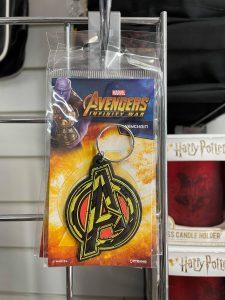Avengers Logo Rubber Keyring