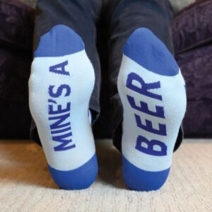 Sole To Sole Socks- Mine's A Beer