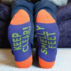 Sole To Sole Socks- Smelly Feet